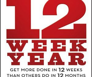 Why I'm focusing on my goals for the next 12 weeks